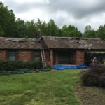 Old Roof Coming Off