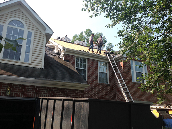 New Roof Installation in Gaithersburg, MD