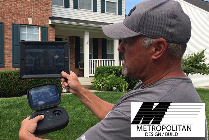 Drone Roof Inspections - Metropolitan Design Build