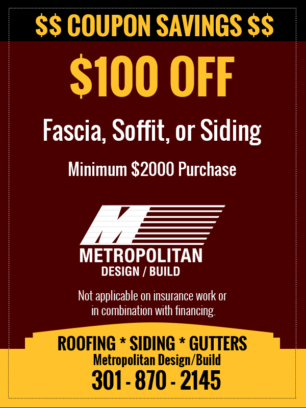 Metropolitan Design/Build Fasia Soffit Siding Coupon