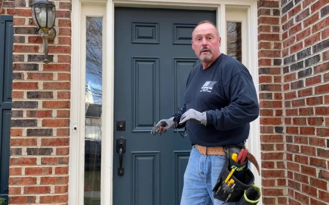 New Front Door Improves Curb appeal and Saves Money!
